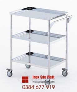 Bàn-y-tế-đẩy-dụng-cụ---Inox-Sáu-Phát