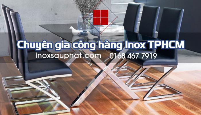 Gia công inox theo yêu cầu tại TPHCM - Inox Sáu Phát
