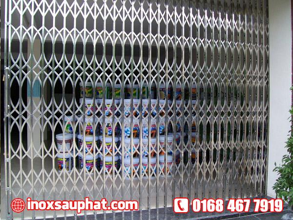 Xưởng inox Sáu Phát làm cổng inox ở TPHCM