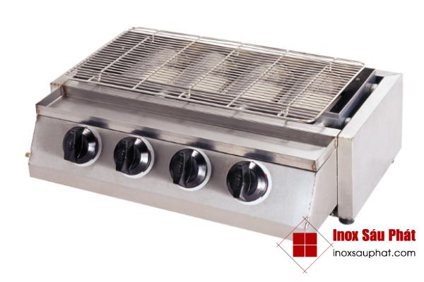 Làm bếp, lò nướng inox ở TPHCM để quay, nướng thịt - Inox Sáu Phát