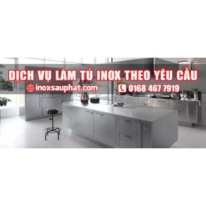 Dịch vụ làm tủ inox theo yêu cầu ở TPHCM