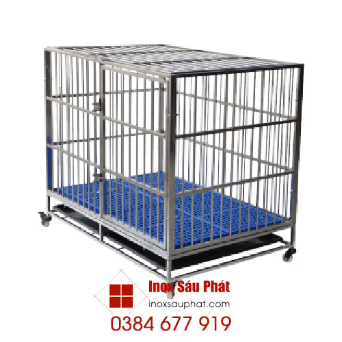 Hình ảnh sản phẩm Inox Sáu Phát - cửa hàng inox các loại - chuồng nuôi chó inox