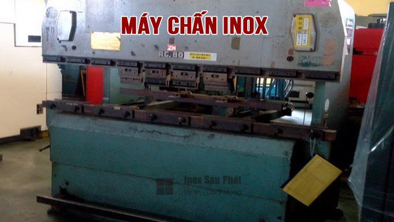 Dịch vụ chấn inox theo yêu cầu, dập be chấn, cắt inox Inox Sáu Phát